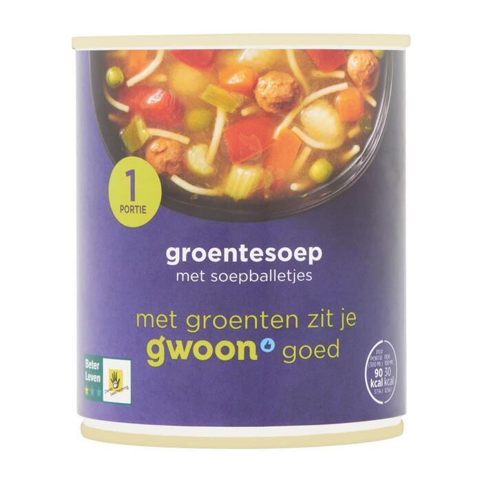 g'woon Groentesoep (30cl)