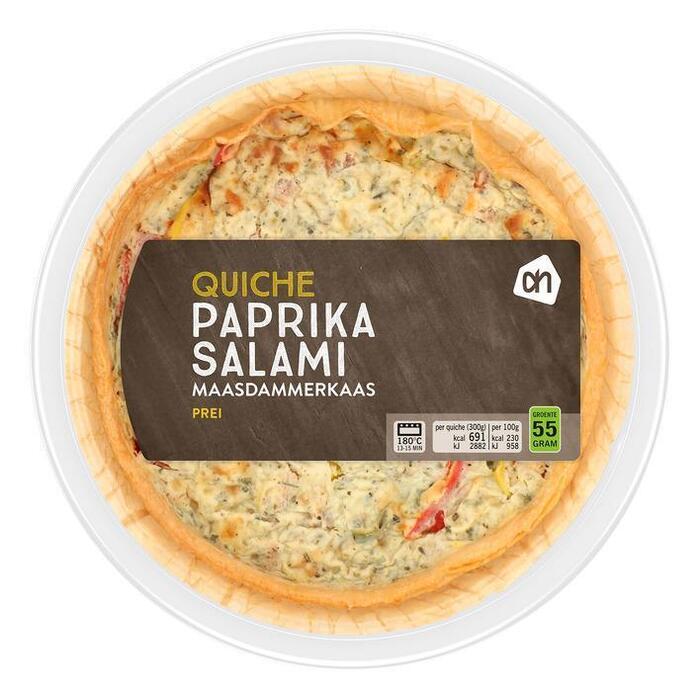 AH Quiche paprika salami (300g)