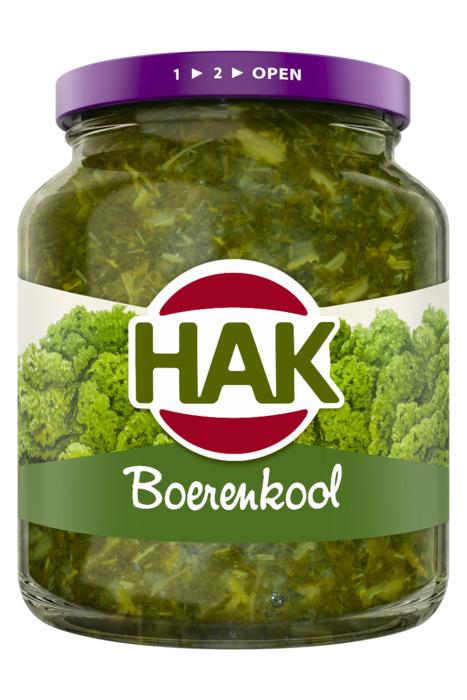 Hak, Boerenkool (pot, 340g)
