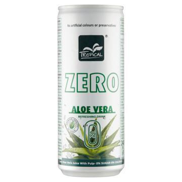 Tropical Zero 0% Aloe Vera Refreshing Drink 240 ml (240ml)