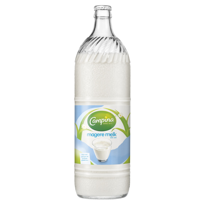 Magere melk (1L)