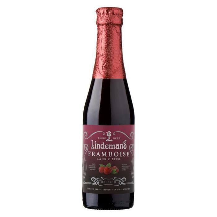 Lindemans Framboise Lambic Beer Fles 25cl (rol, 25 × 250ml)