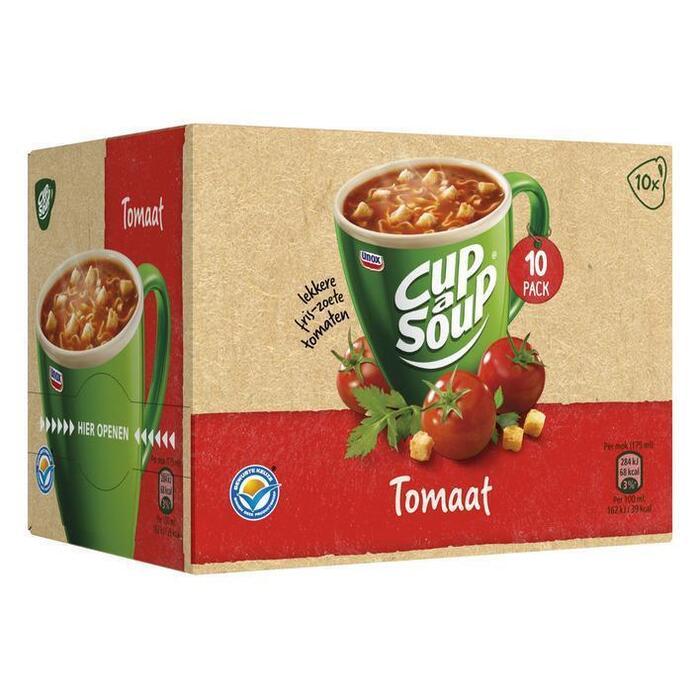 Unox Cup-a-Soup tomaat voordeelverpakking (10 × 175ml)