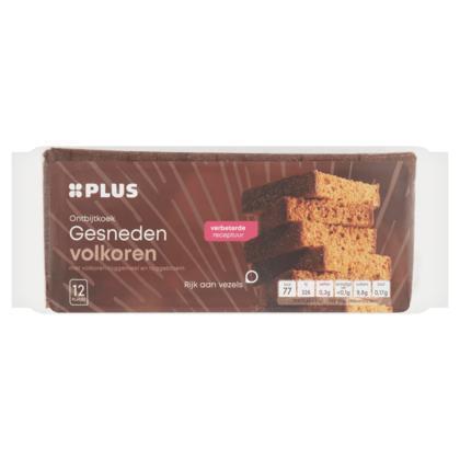Ontbijtkoek volkoren gesneden (350g)