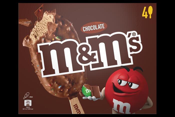 M&M's Choco ijs (4 × 248g)