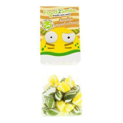 Food2Smile Kandies mix appel citroen (100g)