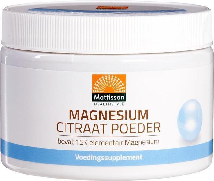 Magnesium citraat poeder (200g)