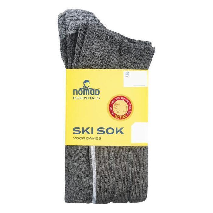 Nomad Dames ski sokken 2paar 39-42