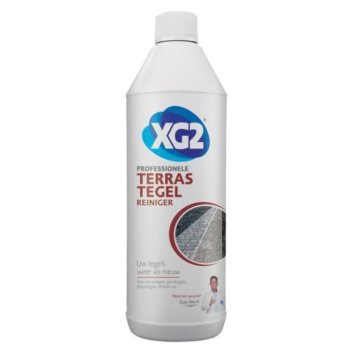 XG2 Professionele Terrastegel Reiniger 1000ml (1L)