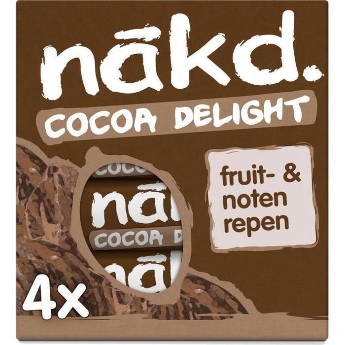 Cocoa delight (doos, 4 × 140g)