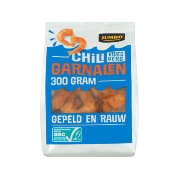 Jumbo Chili Garnalen Vriesvers 300 g (300g)