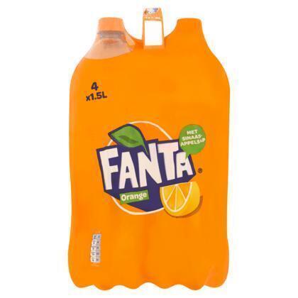 Orange (Stuk, 4 × 1.5L)