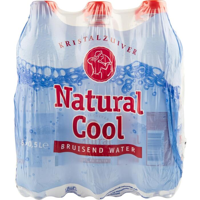Water koolzuurhoudend 6x50 cl (6 × 0.5L)
