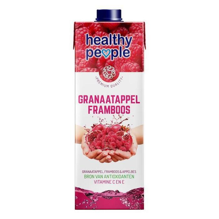 Granaatappel en Framboos (Stuk, 1L)