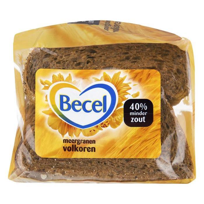 Meergranen Volkoren Half Brood (plastic zak) (400g)