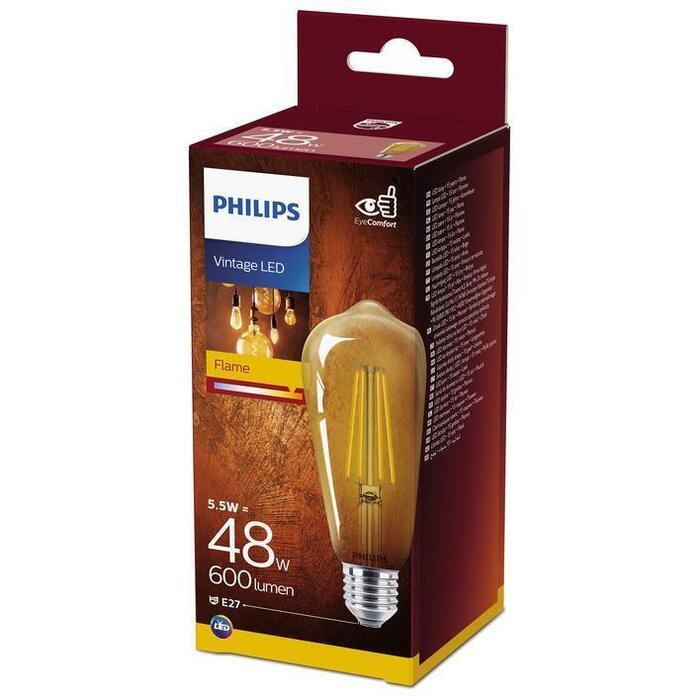Philips Fil S64 E27 48W goud