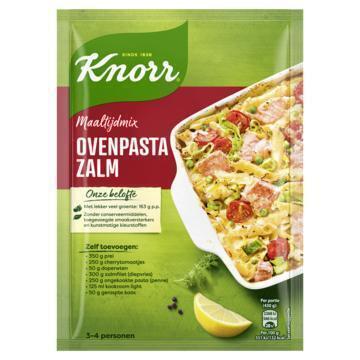 Knorr Maaltijdmix Ovenpasta Zalm 57 g (57g)