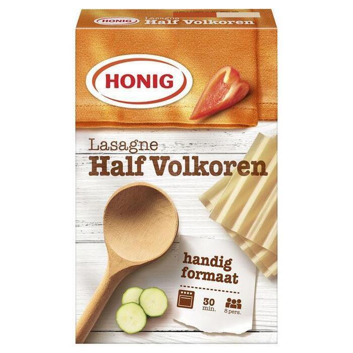 Half Volkoren Lasagnebladen (doos, 250g)