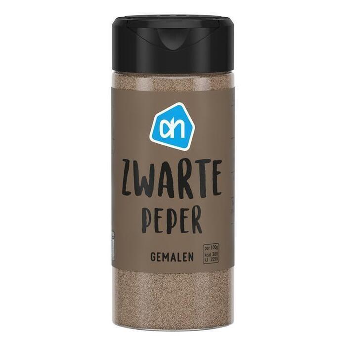 AH Zwarte peper gemalen (50g)