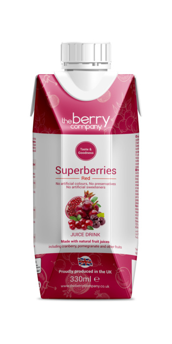 TheBerryCompany SuperBerry Red 330ml (33cl)
