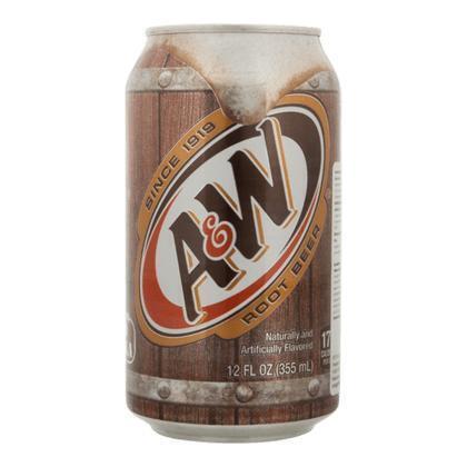 A&W Root beer (blik, 35.5cl)