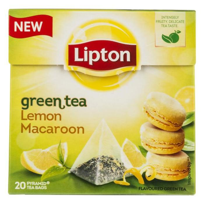 Green Tea Lemon Macaroon (20 zakjes) (zakjes, 20 × 1.4g)