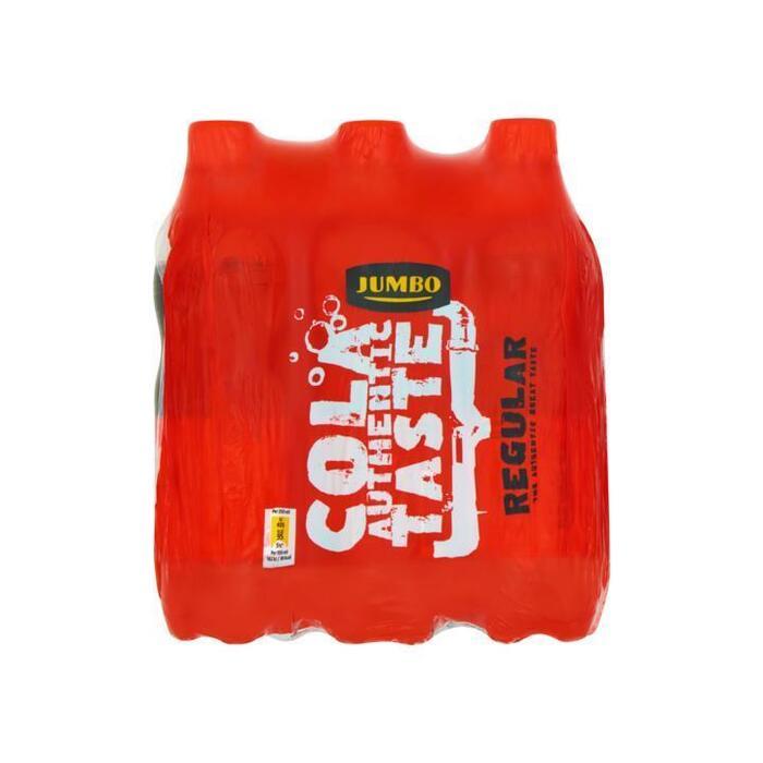 Jumbo Cola Authentic Taste Regular 6 x 500ml (6 × 0.5L)