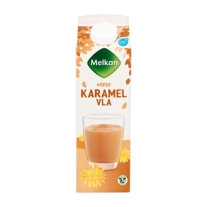 Melkan Karamel vla (1L)