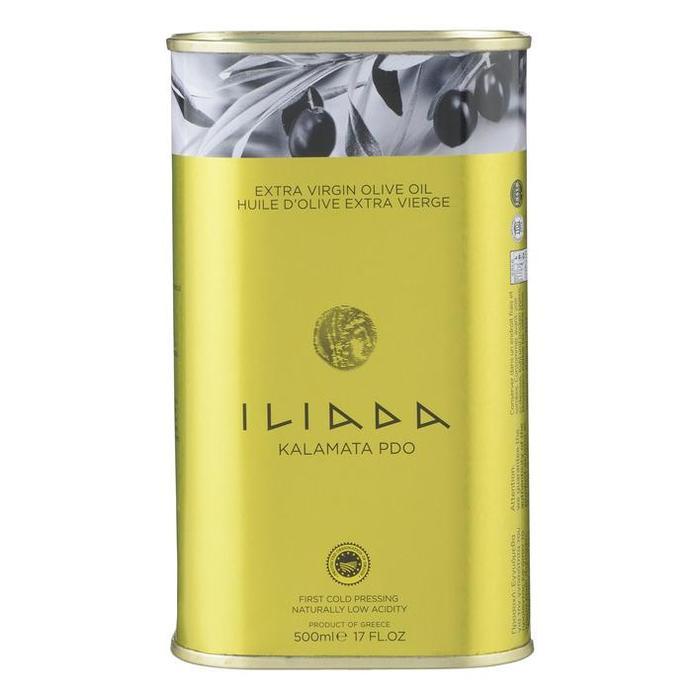 Iliada extra vierge olijfolie 500ml blik (0.5L)