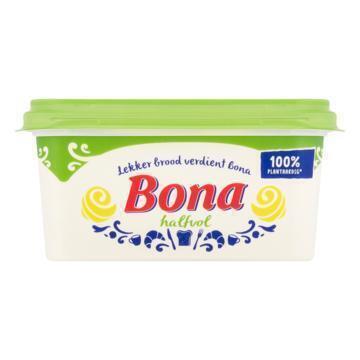Bona Halfvol voor op brood (kuipje, 500g)
