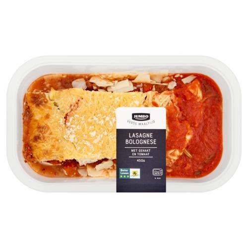 Jumbo Verse Maaltijd Lasagne Bolognese 450 g (450g)