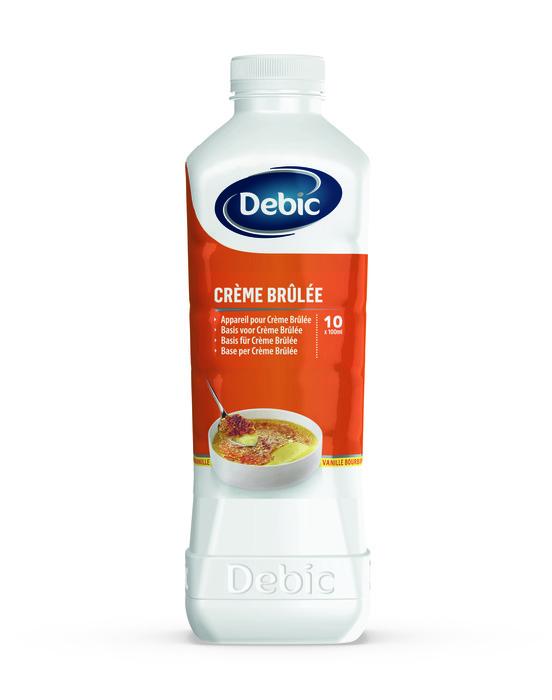 Debic desserts crème brûlée bourbon 1 lt fles (1L)