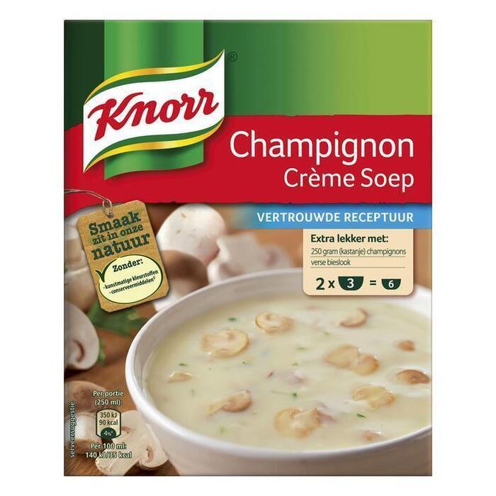 Knorr Mix Champignonsoep Crème (2 × 51g)