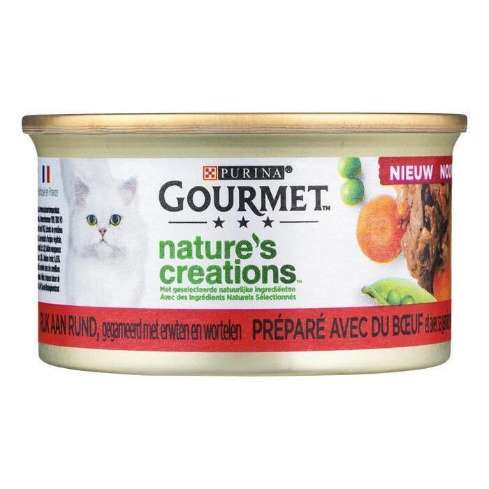 Purina Gourmet Nature's Creations Vlees 85 g (85g)