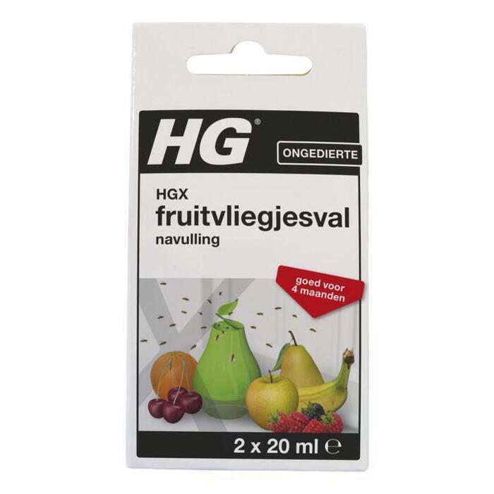 HG Fruitvliegjesval navulling (2 × 20ml)