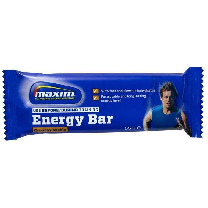 Crunchy cookie energy bar (55g)