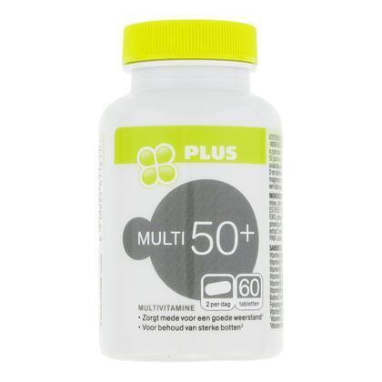 Multi vit mineralen 50+ (60 st.)
