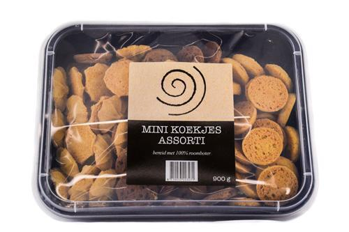 Mini koekjes roomboter assorti (900g)