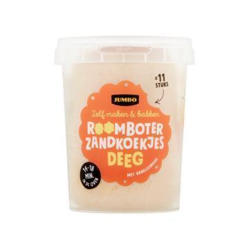 Jumbo Roomboter Zandkoekjes Deeg 500 g (500g)