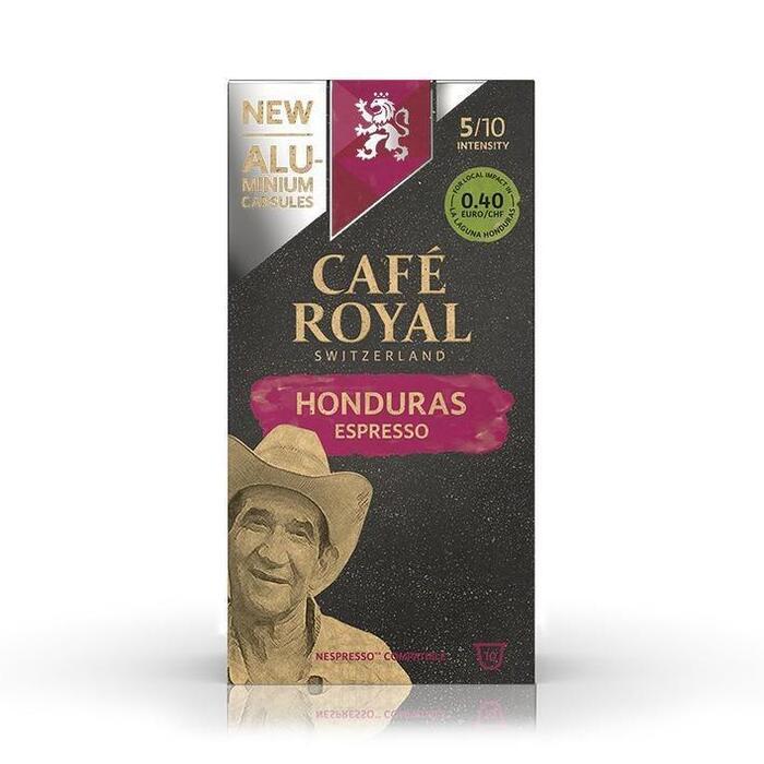 Café Royal Honduras espresso