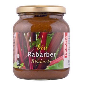Bio Rabarber (pot, 37cl)