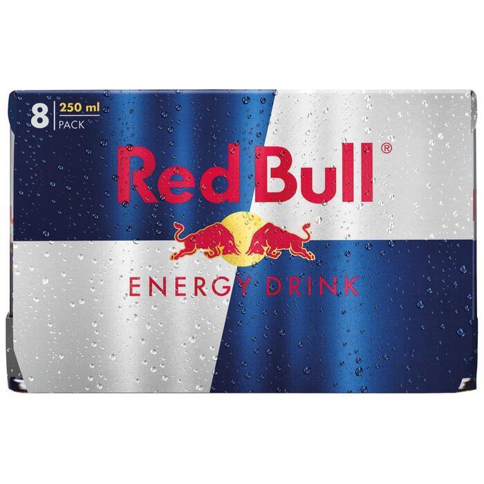 Red Bull (blik, 8 × 250ml)