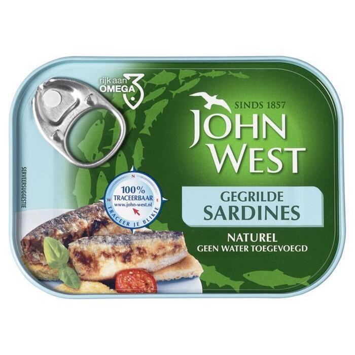 Sardines, MSC (blik, 100g)
