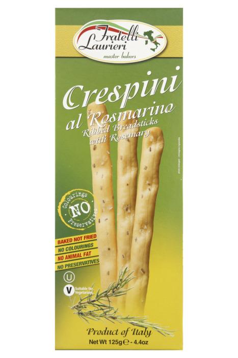 Fratelli Laurieri Crespini al rosmarino (125g)