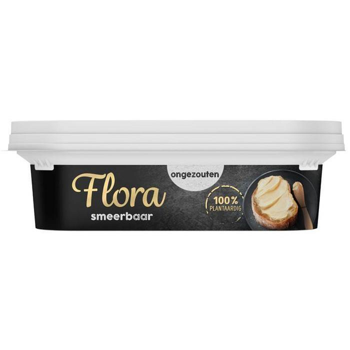 Flora margarine ongezouten 225g 8x (225g)
