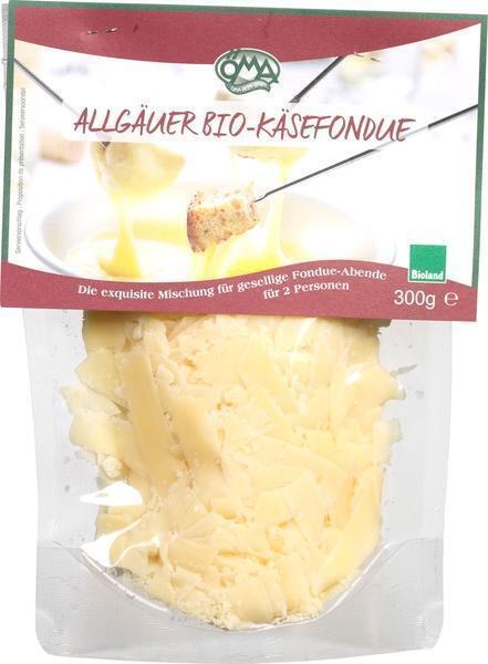 Allgäuer kaasfondue snippers 48+ (300g)