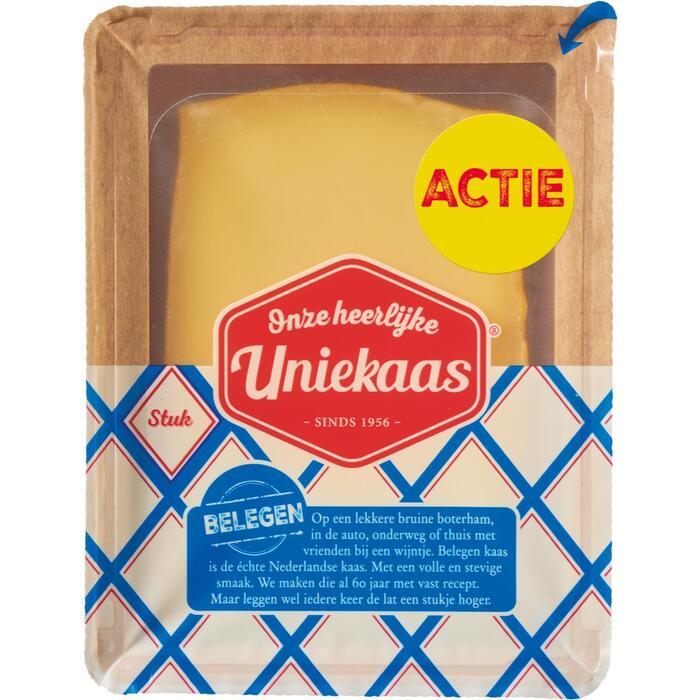 Uniekaas kaas stuk belegen 800g tray (800g)