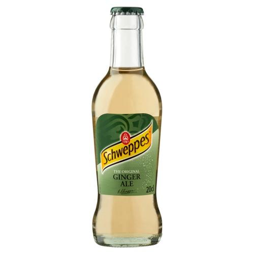 Schweppes Ginger Ale (glas, 200ml)