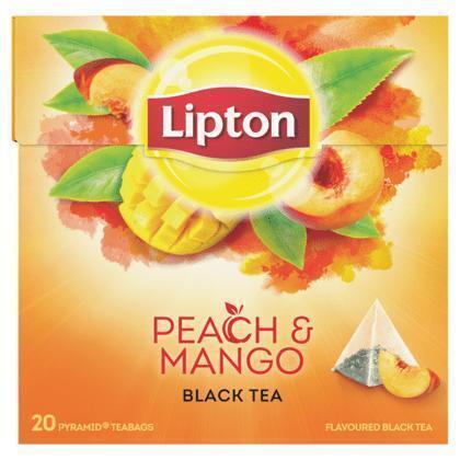 Peach Mango Tea (doos, 20 zakjes) (zakjes, 36g)