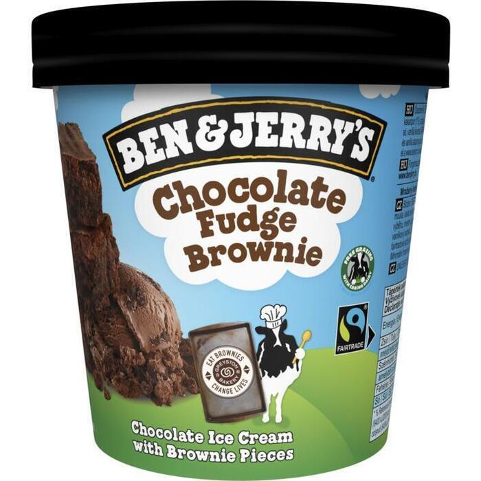 Ben & Jerry's Chocolate fudge brownie classic ijs (46.5cl)